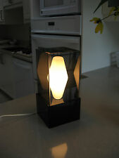 Vintage Lucite Table Lamp. Retro 1960's Mid Century Modern. All Original.