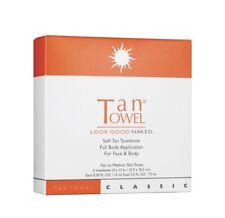 TanTowel CLASSIC Self-Tan Towelettes Total Body Fair to Medium 5 Towelettes NIB
