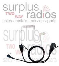 2 Wire Headset For Motorola Radios CLS1410 CLS1110 BPR40 RDV2020 RDU2020 RDU2080