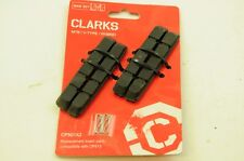 CLARKS PACK 4 REPLACEMENT BIKE BRAKE PAD INSERTS SUITABLE FOR CP513 BRAKES