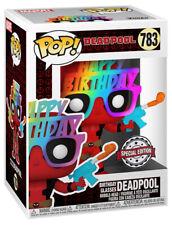 FUNKO POP DEADPOOL N°783 DEADPOOL BIRTHDAY GLASSES SPECIAL EDITION