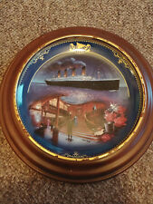 1999 Titanic Queen of the Ocean The Grand Staircase Bradford Exchange Plate