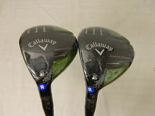 NEW 2013 LH SET OF CALLAWAY RAZR FIT XTREME 3 & 5 FAIRWAY WOODS REGULAR WOOD