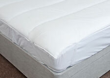 Luxury Hollowfibre Mattress Topper - All sizes