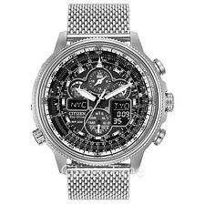-NEW-Citizen Navihawk Atomic Timkeeping Eco-Drive Watch JY8030-83E