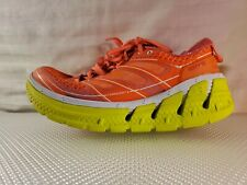 HOKA ONE Running Shoes Neon-Womens Conquest 2-Size 6.5-Orange/Yellow Excellent!