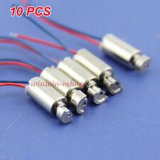 10Pcs 4x8mm DC 1.5V-3V Micro Mini Coreless Vibrating Vibrator Vibration DC Motor