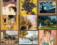 RIOLIS - Famous Paintings Series - Counted Cross Stitch Kits