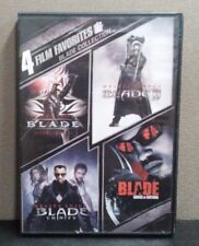 Blade Collection: Blade-Blade ll- Blade Trinity-Blade House Of Chthon  4 DVD Set