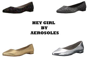 Aerosoles Women's Hey Girl Ballet Flat