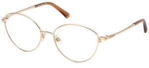 Occhiali da Vista Swarovski SK5373 Shiny Gold 56/17/135 donna