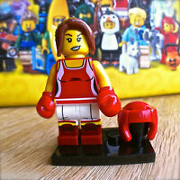 LEGO 71013 Minifigures SERIES 16 KICKBOXER #8 SEALED Minifig Female Boxer Lady