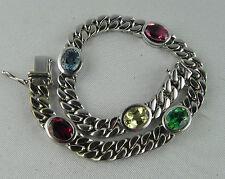 Echte Edelstein-Armbänder aus Weißgold mit Diamant
