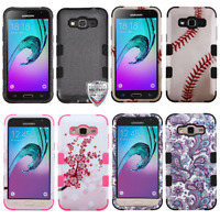 For Samsung S320/J320/Prime/Amp/J3 TUFF Rugged Hybrid Phone Protector Case Cover