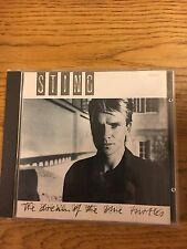Sting Police The Dream Of The Blue Turtles Album 1985 FRENCH CLEAR Edition CD