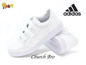 New adidas AltaSport CF Quick Close White Trainers Sneakers UK5