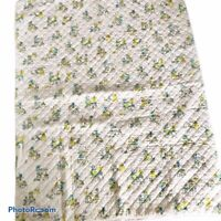 Vintage Holly Hobbie Quilted Blanket Handmade  Toddler Baby Blanket