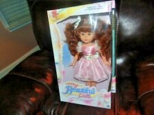 "Valerie My Beautiful Doll Hasbro 17.5"" 1989 + New Outfit ""Pink Party dress"""