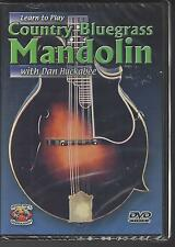 Learn to Play Country Bluegrass Mandolin with Dan Huckabee DVD NEW