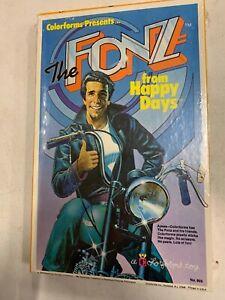 Vintage 1976 The Fonz Colorforms Toy Happy Days MIB Sealed