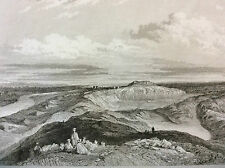 Babylone Babylonie Royaume de Babylone Mésopotamie ruines de Babylone gravure