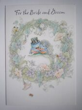 "Hallmark Expressions ~ ""FOR THE BRIDE & GROOM"" WEDDING GREETING CARD + ENVELOPE"