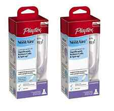 Playtex BPA Free VentAire Standard Bottle, 6 Ounce (2 Pack)