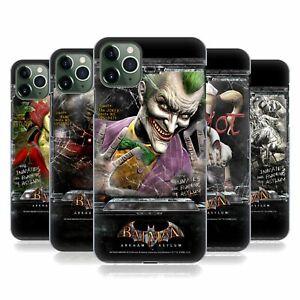 OFFICIAL BATMAN: ARKHAM ASYLUM POSTERS HARD BACK CASE FOR APPLE iPHONE PHONES
