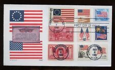 SPECIAL SALE US First Day COMBO Cover (American Flag) 1988 Boxborough, Mass