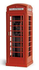 PECO LK-760 - RED - Telephone Kiosks (2) Plastic Kit '0' Gauge - Tracked 48 Post