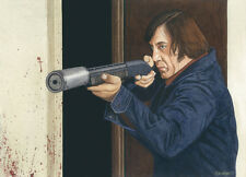 NO COUNTRY FOR OLD MEN JAVIER BARDEM ART PRINT