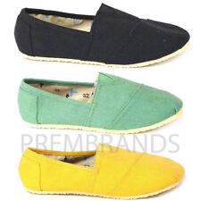 Canvas Standard Width (D) Casual Flats for Women