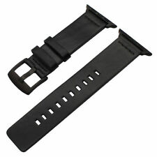 Quick Release Leather Watch Band Wrist Strap For Apple Watch 38 42 40 44 1 2 3 4