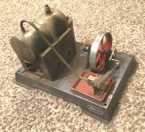 Vintage Wilesco Toy Steam Engine & Boiler