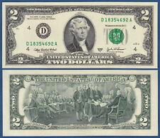 USA 2 Dollars 2003A UNC (D Cleveland)  P. 516 b
