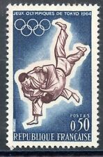 STAMP / TIMBRE FRANCE NEUF LUXE ** N° 1428 ** SPORT JEUX OLYMPIQUES DE TOKYO