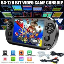 5.0� 128 Bit Handheld Video Game Built-In 1000 Games Portable Console Player Us