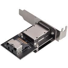 Silverstone SST-SA011 Int Mini-SAS SFF-8087 to Ext Mini-SAS SFF-8088 Adapter