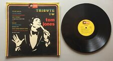 Ref123 Vinyle 33 Tours Tribute To Tom Jones