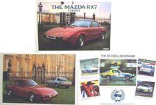 Mazda RX-7 Rotary 1982-83 Original UK Sales Brochure Pub. No. RX7/82/6