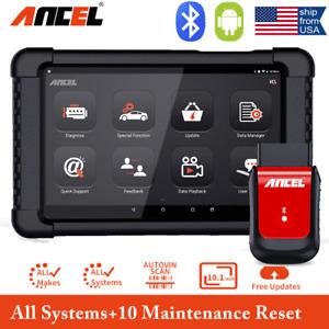 Automotive Bi-directional OBD2 Scanner Diagnostic Tablet Scan Tool Code Reader