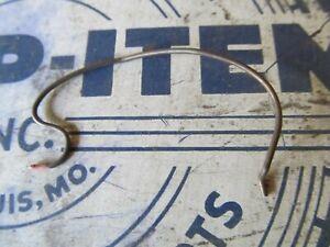 DOOR LOCK SPRING - 942-U Bolt return LOCK SPRING LEFT 1949 1950 Buick Pontiac