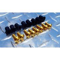 Gold Screen Bolt Kit CBR RC51 600RR F4 GSXR TLR 250R ZX6 ZX10 ZX14 R1 R6 S1000RR