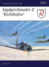 WW2 German Luftwaffe Jagdgeschwader 2 'Richthofen' 1 Osprey Reference Book