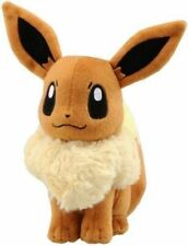 "7"" EEVEE Pokemon Go Plush Toy TOMY Soft Stuffed Animal Doll Evee Kids Gift K0"