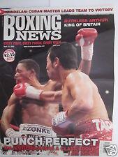 """Boxing News"" 15 April 2005,Barrera,Alex Arthur,Wayne Eclock,Jon Thaxton,"