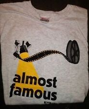 "THEATRE T-SHIRT ""Almost Famous"" Thespians Musicals XL and 2XL"
