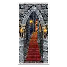 Castle Entrance Door Cover  Medieval Times Halloween Decoration