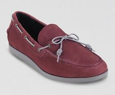 Cole Haan Empire Claret/Ironstone Suede Air Mason Loafer Boat Shoe - MSRP $148