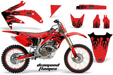 Honda CRF 450R Graphic Kit AMR Racing # Plates Decal Sticker Part 05-08 DFR
